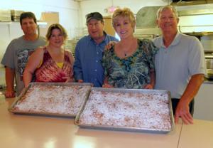 Lodi Elks Lodge serves meal for Lodi Butterfly Auxiliary