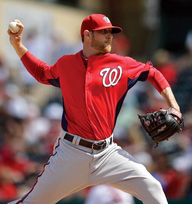 Former Galt star Ryan Mattheus savors opening day with the Washington Nationals