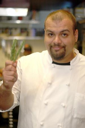 Local chef Ihred Herrera: Variety of fresh herbs bring out the flavor