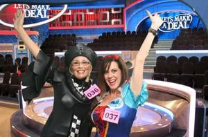 Lodi resident Angela Garcia dresses up to try her luck on 'Let's Make a Deal'