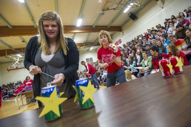 Lodi High School rally celebrates improved API scores