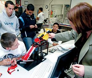 Galt High engineering class has 135 students: Less than 20 of them are girls