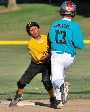 Big fourth inning lifts Pirates to Cal Ripken Farm title