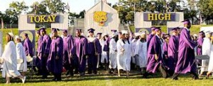 Last but not least: Tokay graduates two weeks late