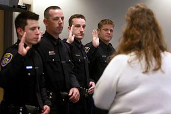 Galt Police welcome four new officers