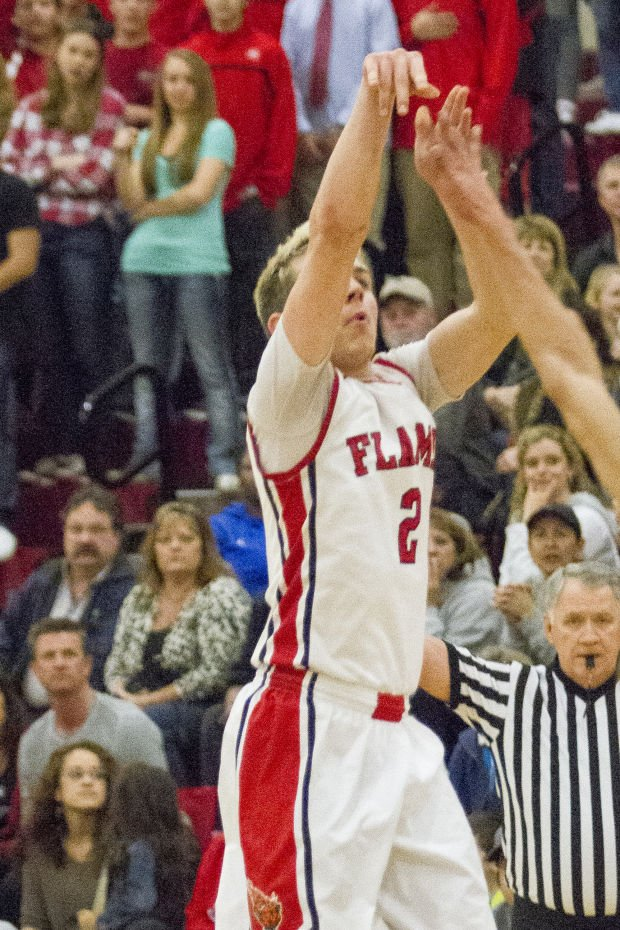 Boys basketball: Flames top Bruins, can clinch postseason berth with victory in finale