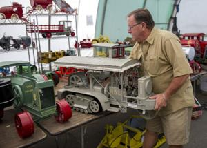 Lodi man's trove of tiny tractors to be sold by Galt auction house