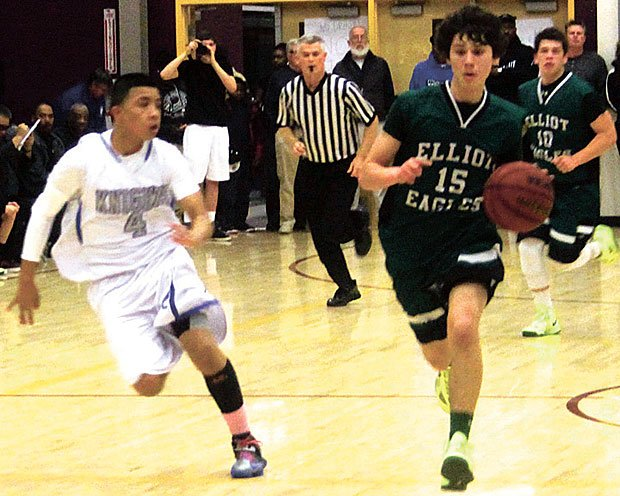Boys basketball: Eagles denied as Knights capture Central California Athletic Alliance title