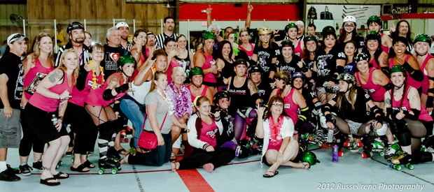Port City Roller Girls beat South Bay Derby Mizfitz