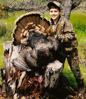 Lodi's Carson Shah, 9, bags first wild turkey