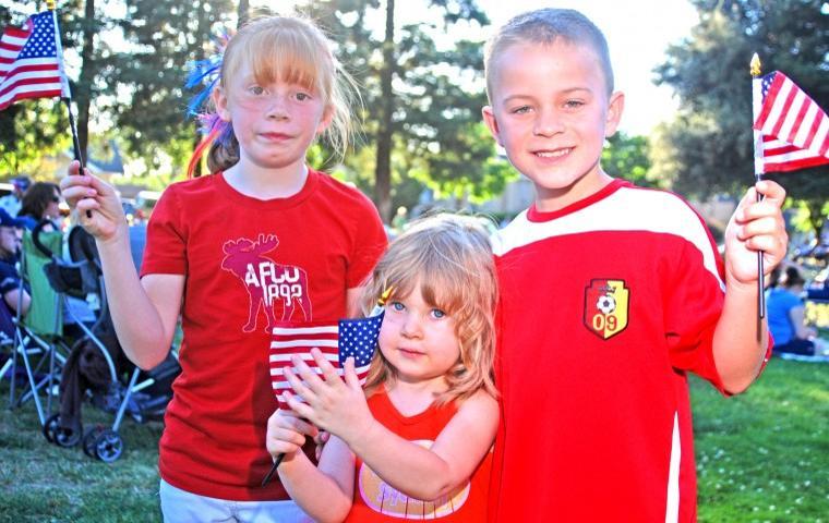 Celebrating America in Lodi