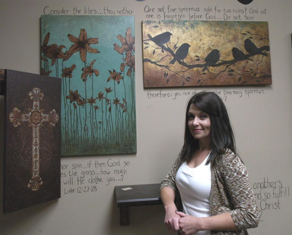 Lodi woman uses inspiration from Scripture in her art