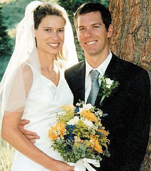 Williamson, Johnson wed in August, spent their honeymoon in Alaska