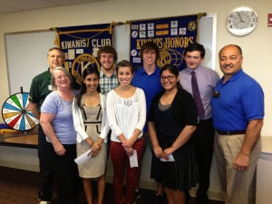 Kiwanis Club of Greater Lodi presents six scholarships