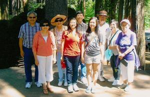 Enter into prehistoric times at Calaveras Big Trees State Park near Arnold