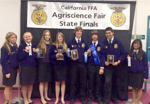 Lodi FFA students see success at state finals