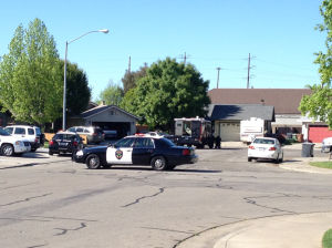Lodi police end standoff with suspected gunman