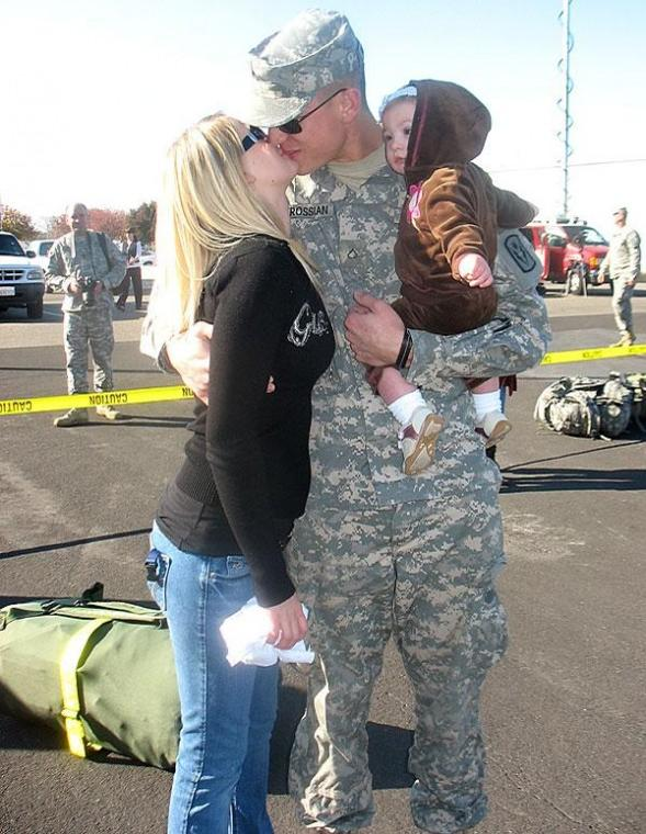 National Guard troops return home in time for the holidays