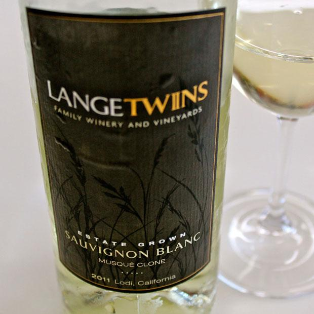 The 2011 LangeTwins Lodi Sauvignon Blanc is refreshing