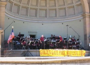 Lodi Community Band performed at Golden Gate band festival