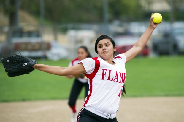 Softball: Flames begin San Joaquin Athletic Association play with a bash