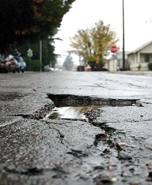 Pavement predicament: Budget constraints keep streets in a rut