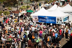 Taste chocolate by the sea at the Ghirardelli Chocolate Festival in San Francisco