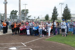 Lodi ballplayers celebrate opening day