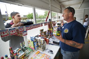 Fireworks stands open for first time in Lodi