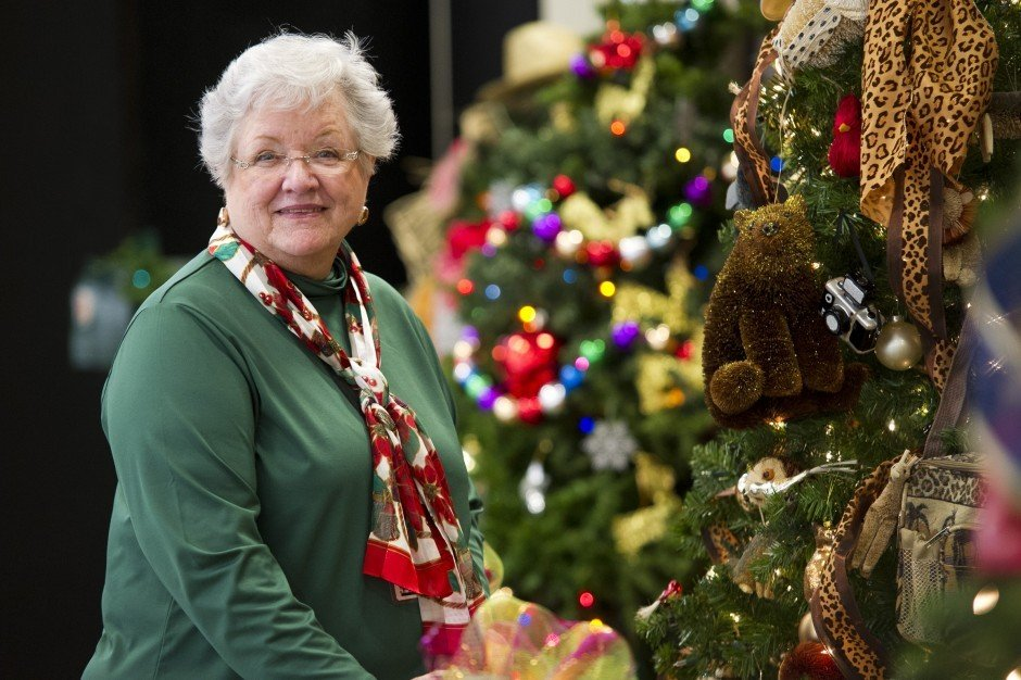 Festival tree coordinator Carol Blais provides tips for the perfectly decorated Christmas tree