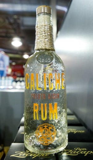 BevMo! Opens In Lodi: Caliche Rum : $18.99  - Photo by Dan Evans/News-Sentinel