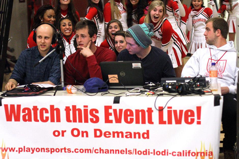 Lodi High School students produce online sports broadcasts