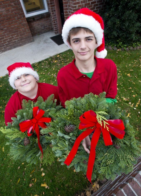 Lodi brothers Drew and Joel Klaege hope to earn Christmas iPads