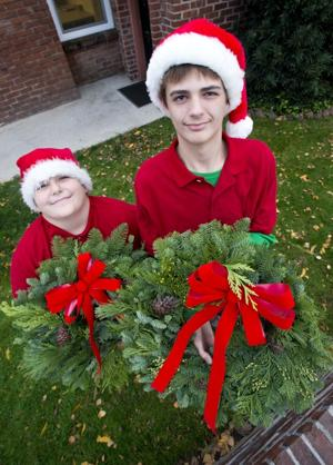 Lodi brothers Drew and Joel Klaege hope to earn Christmas iPads