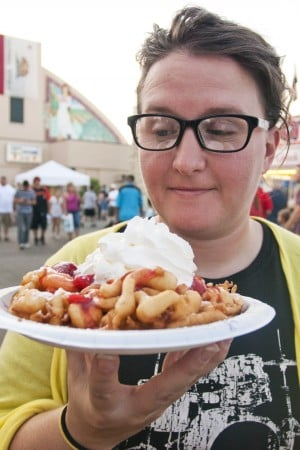 Lodi Grape Festival food is worth every pound