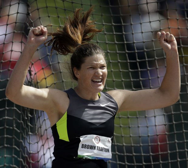 Galts Stephanie Brown Trafton will defend her Olympic discus title