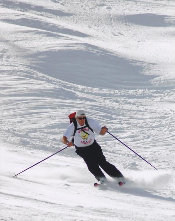 Spring Skiing East of Lodi