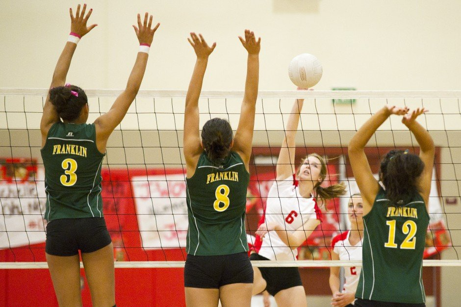 Lodi Flames volleyball team wins league title