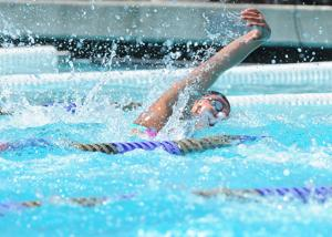 Swimming: Flames send four to state
