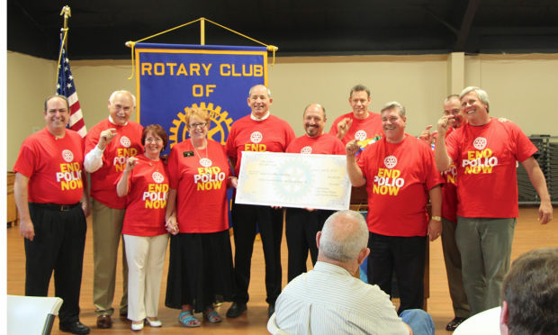Rotary clubs host Rotary Rocks to help eradicate polio