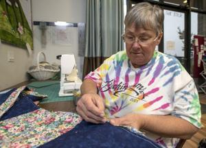 L'Chayim board member Kate Baiko shares rag quilt project
