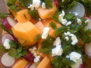 Refreshing Cantaloupe Salad