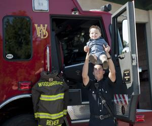 Woodbridge Fire swears in seven new firefighters