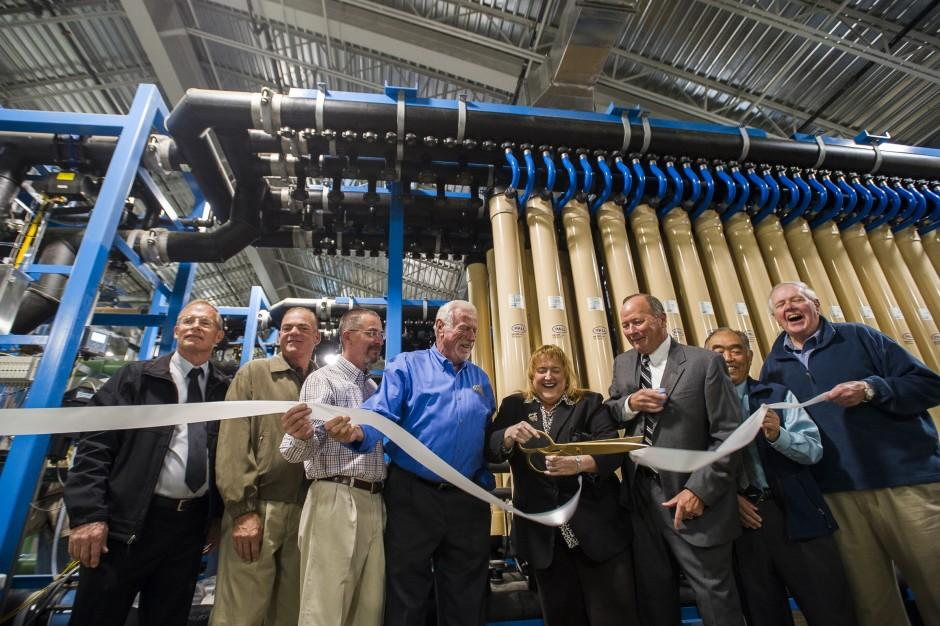 Lodi City Council dedicates water treatment plant