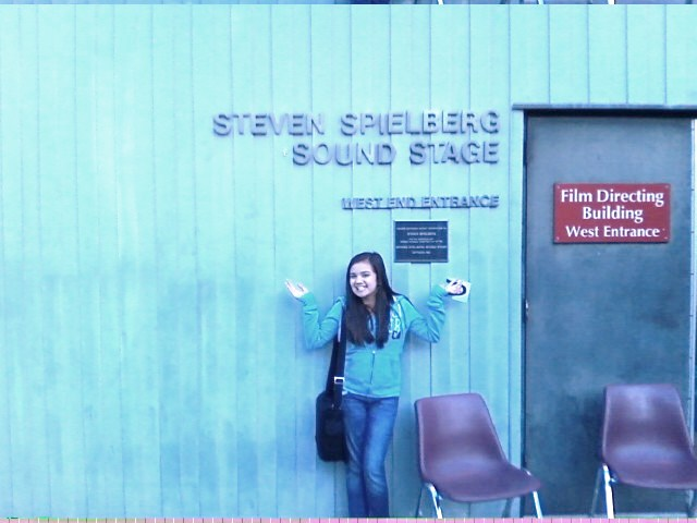 Actress Madisun Eisenbeis on Audition at the Steven Speilberg Sound Studio