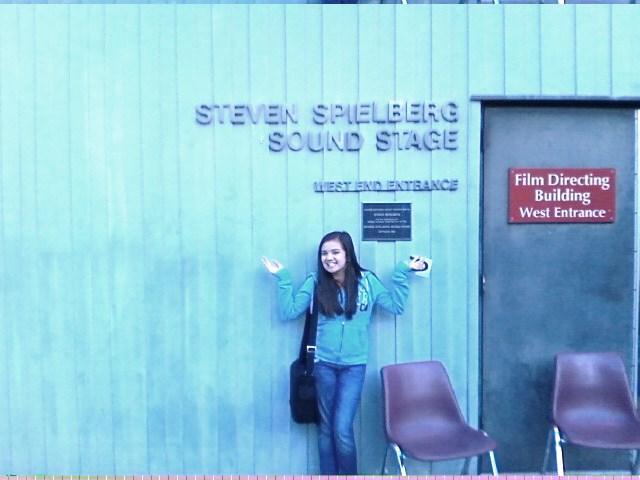 Actress Madisun Eisenbeis on Audition at the Steven Speilberg Sound Studio