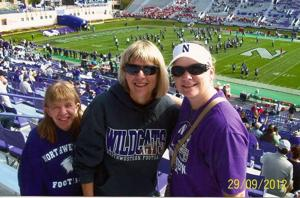 Lodi family experiences college football firsthand at Northwestern