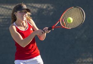 Girls tennis: Flames, Tigers serve up playoff thriller