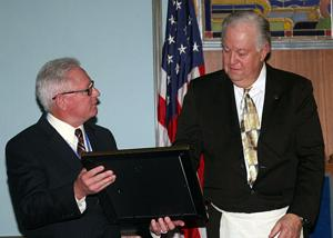 Lodi Lodge No. 256 honors William Meehleis for membership