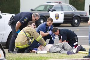 Man shot, wounded on Mills